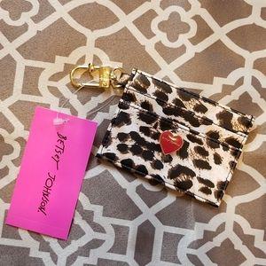 NEW 🌟 Betsey Johnson Leopard Card Case!